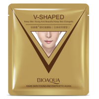 BioAqua V-Shaped Экспресс-лифтинг маска для омоложения лица и шеи.