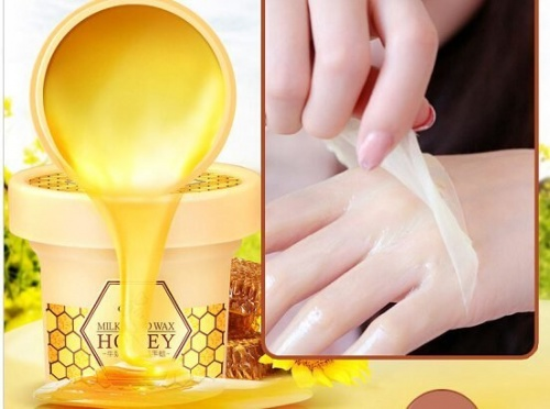 Маска парафиновая с экстрактом меда BioAqua Honey Hand Wax